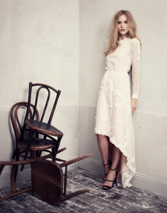 H&M Conscious Collection White lace Dress